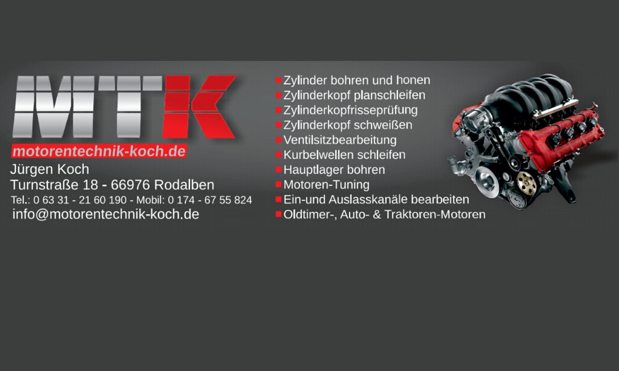 Motorentechnik Koch