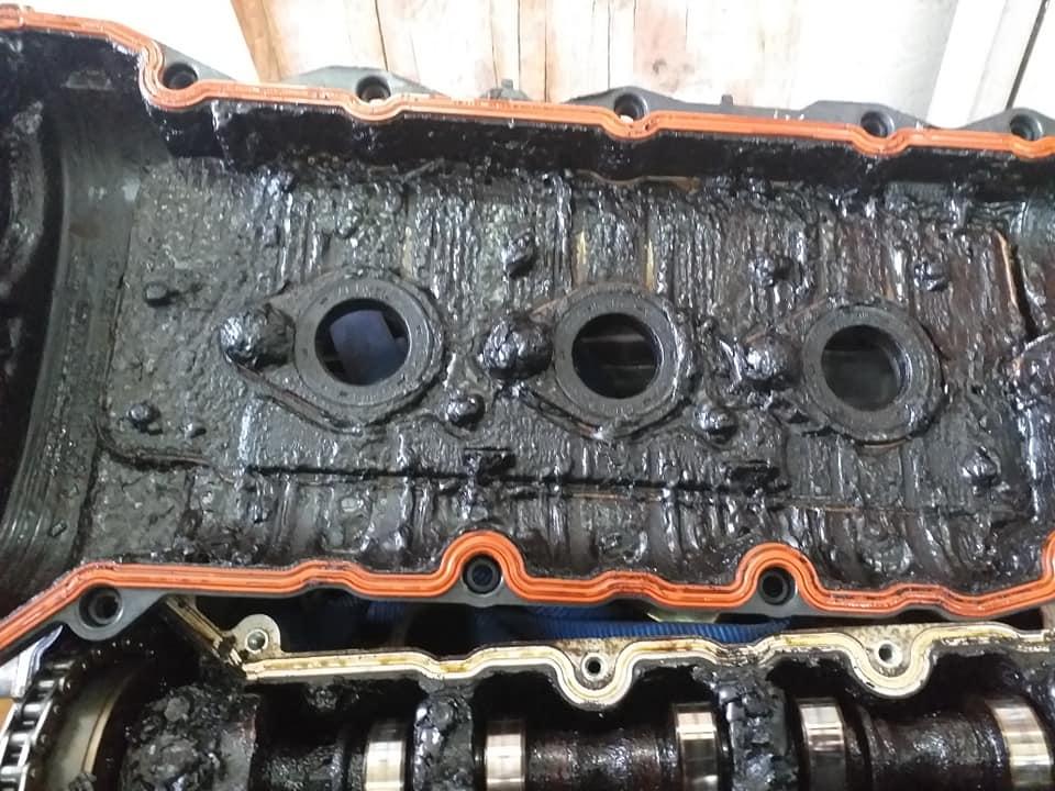 Falsches Motoröl